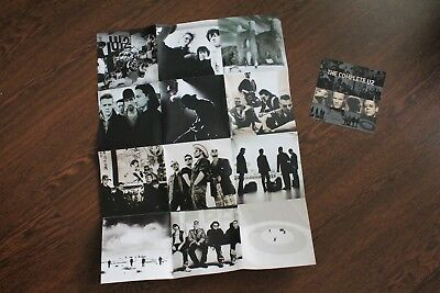 rare IPAD U2 inside double side poster + flyer