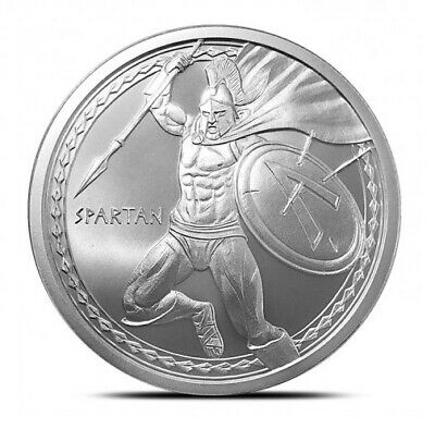 1 oz .999 Silver Round | Spartan - Warrior Series | Volume Pricing