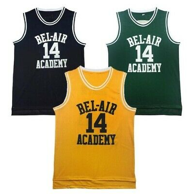 Bel Air #14 Will Smith Jerseys Academy The Fresh Prince Of Basketball Jerseys