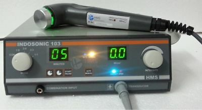 Underwater Treatment Sensor Touch 1 MHz Ultrasound Therapy INDOSONIC 103 Unit GH