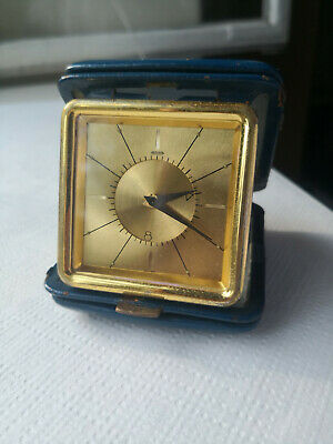 Jaeger Lecoultre 8 day travel alarm clock