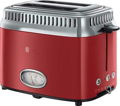 Russell Hobbs 18951-56 Colours Flame Red Toaster 1200 Watt MG11 B