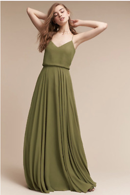 0f66a7b7a2 NEW SOLD OUT Jenny Yoo Olive Green Inesse Dress