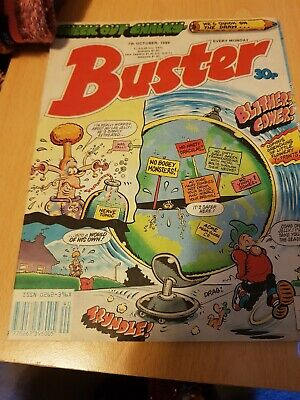 Buster Comic 7th October 1989 07/10/89