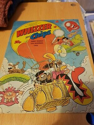 Whizzer and Chips, 10th December 1988 issue - Vintage Retro Comic