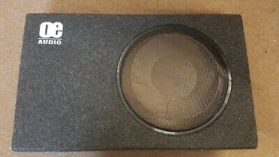 "OE Audio 112SA 12"" Slim Shallow Car Amplified Box - No Subwoofer"