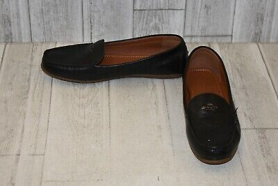 6a9c72db33e COACH MARY LOCK Up Driver Leather Loafers