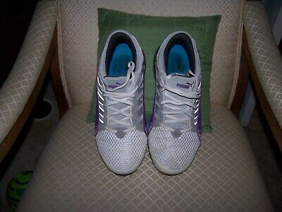 0b6b7103aef84c Puma Womens Purple Silver White IOCELL Athletic Shoes Size 11US UK8.5  EUR42.5