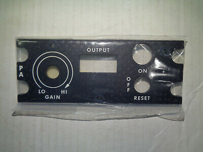 Bell 205 Helicopter 205-075-604-001 Panel New