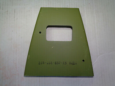 Bell 205 Helicopter 205-031-837-15S Structural Plate New