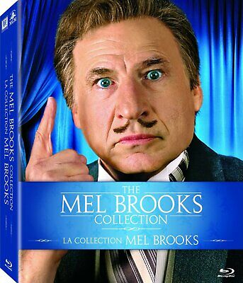 The Mel Brooks Collection [Blu-ray] New and Sealed!!