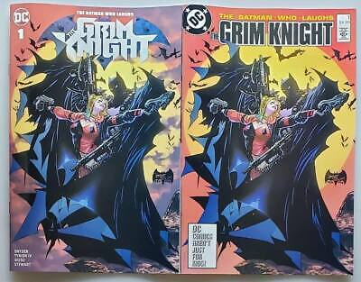Batman Who Laughs The Grim Knight #1 Philip Tan Modern/Retro Trade Dress Variant