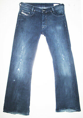 1c12c5ce AUTHENTIC Men DIESEL @ KOFFHA 8IL RELAXED BOOTCUT DARK Denim Jeans 32 x
