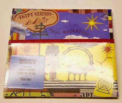 Limited Edition Concertina CD Egypt Station Paul McCartney (Sep-2018, Capitol)