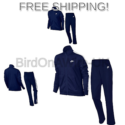 63e915659473 Nike Women s W NSW TRK Suit Pk Oh Tracksuit Blue Void White Blue Void