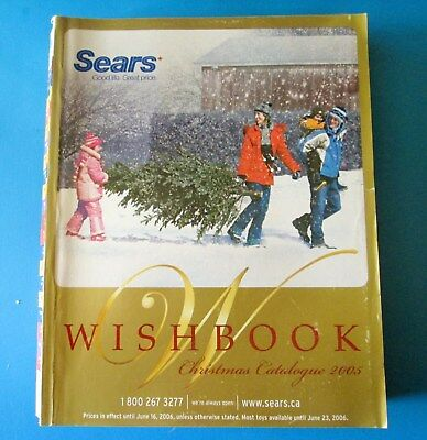 2005 Sears Canada Christmas Wish Book Catalog 1083 Pages