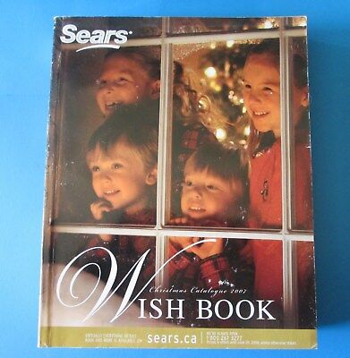 2007 Sears Canada Christmas Wish Book Catalog 1083 Pages