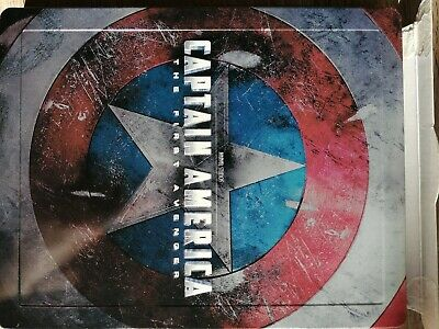 Captain America The First Avenger Blu-ray Steelbook