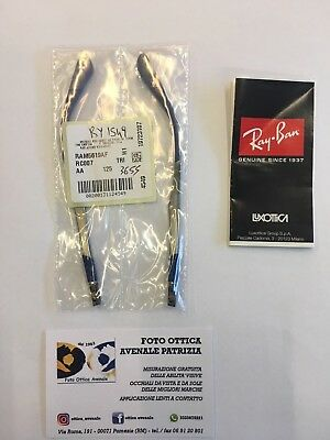 Ray Ban Aste Ricambio Ry 1549 Col. 3655 Replacement Arms New Original