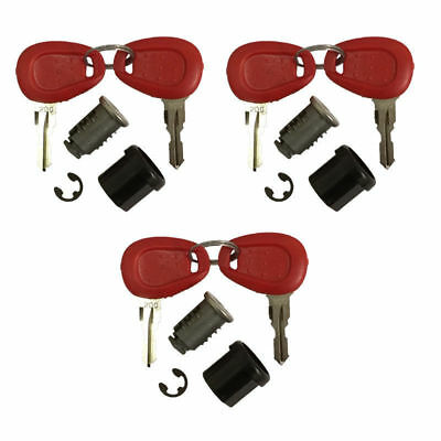 Givi Z228 3 x Replacement Lock Set & Keys For Motorycycle Top Boxes & Panniers