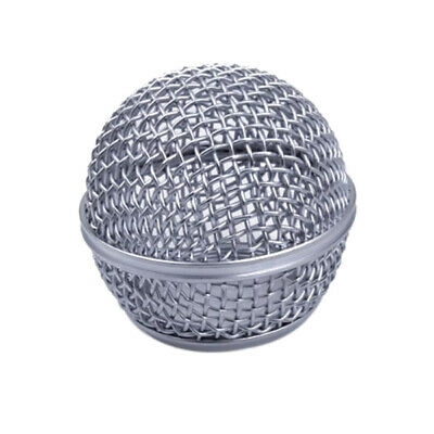 Meshed Hardened Steel Mic Ball Head For SHURE SM58 BETA58 BETA58a SM58LC SM58S