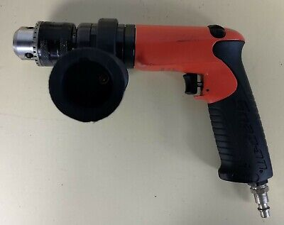 "Snap-On PDR5000 1/2"" Heavy Duty Reversible Air Drill With Side Handle"
