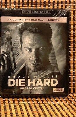 Die Hard 4K (2-Disc Blu-ray, 2018).Bruce Willis/John Mctiernan.