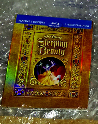 Slepping Beauty - Future Shop Steelbook - Quebec Version - Blu-Ray NEU&OVP