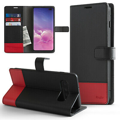 Samsung Galaxy S10, S10 Plus, S10e   Ringke [Wallet] Card Flip Stand Cover Case