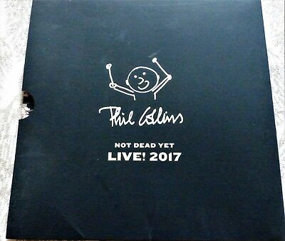 Phil Collins 'Not Dead Yet' Live 2017 Tour Programme + Rehearsal Booklet