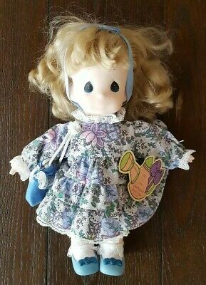 Precious Moments Doll/Iris/May/#1459/Garden of Friends/1st Edition
