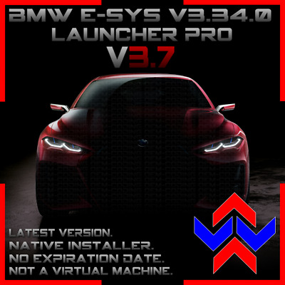 E-SYS v3.3 for BMW Coding, PSdZdata March 2019 v4.16.22 & 10 year Launcher Pro