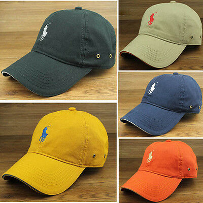 New Outdoor Unisex Men Womens Golf Casual Sun Cotton Hat Adjustable Baseball Cap