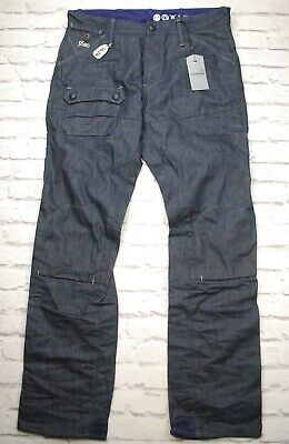 G STAR NEW BRONSON Tapered Leg Canvas Jeans Waist 33 Leg 32
