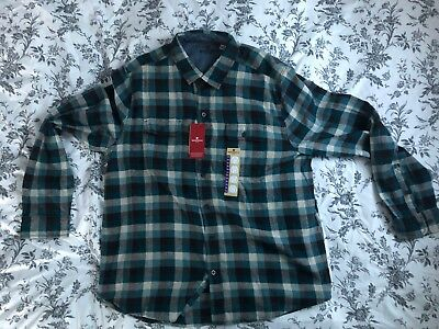 6be396ebc WOOLRICH MEN'S OXBOW Bend Plaid Flannel Shirt - 100% Cotton - NWT ...