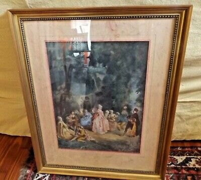 Antique 19th Century French Watercolor by Set Designer Pierre-Luc-Charles Ciceri