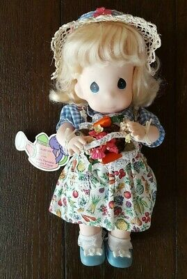 Precious Moments Doll 1995 1st Edition Garden of Friends Blossom August #1462
