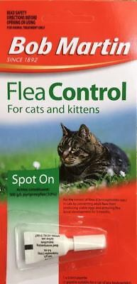 Bob Martin Spot On Flea Control for Cats and Kittens 3 months TX use by 3/2020.