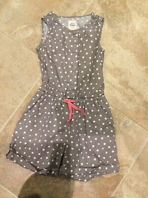 edc26cd6f03c Mini Boden 4-5 Polka Dot Playsuit