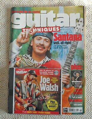 Guitar Technques magazine June 2000. Excellent condition with CD