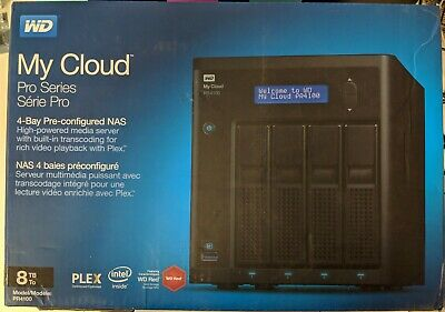 WD 8TB MY Cloud PR2100 Pro Series Media Server with Transcoding, NAS