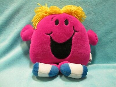 New 57008 Scribble Me Little Miss Chatterbox Soft Plush Toy