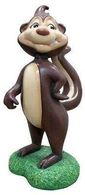 Comic Skunk Mother Forest Animal Prop Decor Resin Staute