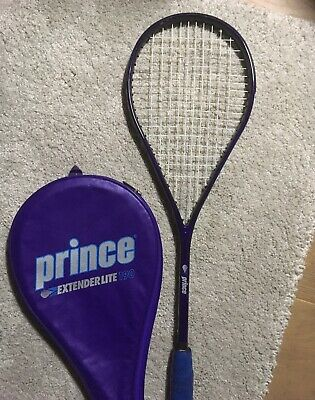 Prince Extender Light 190 Squash Racquet with Case RRP$99 great condition