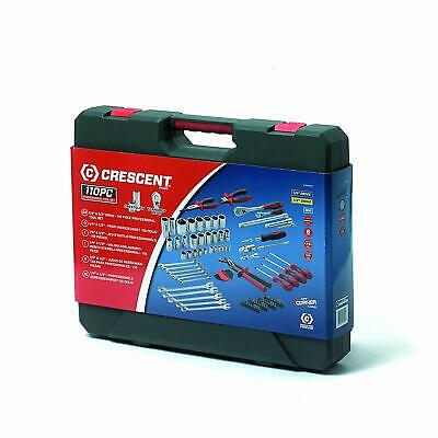 Crescent 110 Piece Mechanics Professional Tool Kit in a Heavy Duty Case