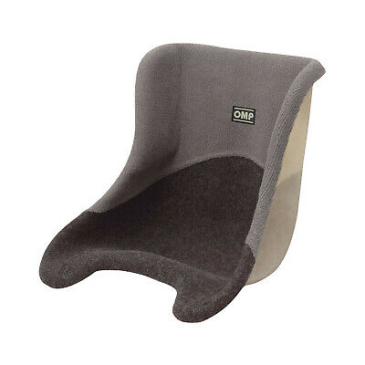 Genuine OMP Karting Seat with grey upholstery