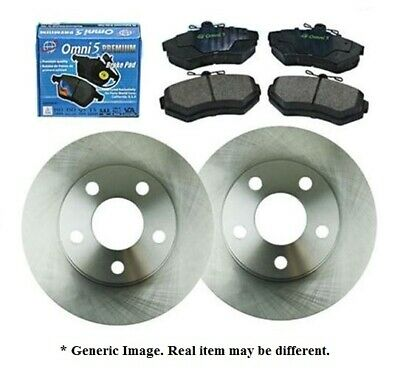 FK Fits 1998-2001 Acura Integra 1.8L Except Type R Front Brake Rotors /& Pads