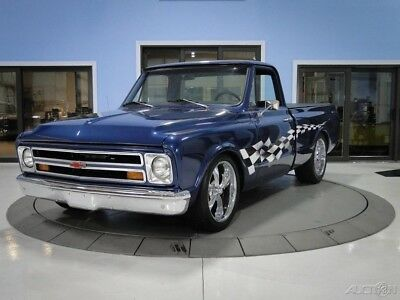 1968 GMC C10  Dark Blue Metallic with Checkered Flag Decals