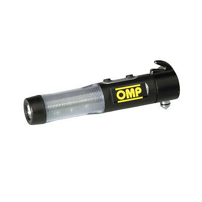 Genuine OMP Seatbelt Cutter with hammer and torch