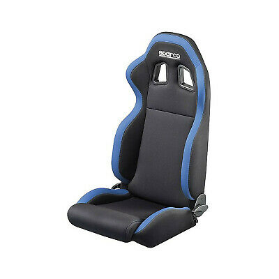 Genuine Sparco R100 Black and Blue Tuning Car Seat